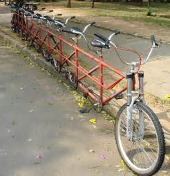 People Picture of Tandem Bicycles