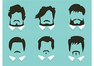 Free Vector Hair And Beard Styles Download Free Vector