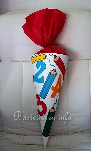 basteln mit papier herbst und halloween schultuete basteln bastelanleitung kostenlos