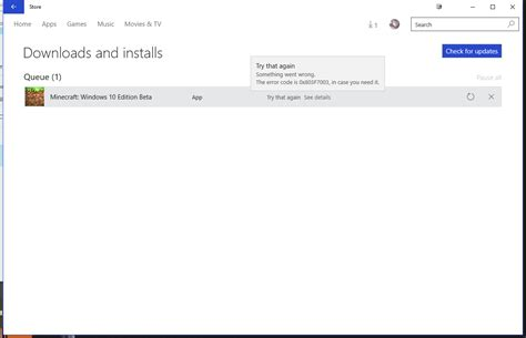 how to fix the windows store issue error message