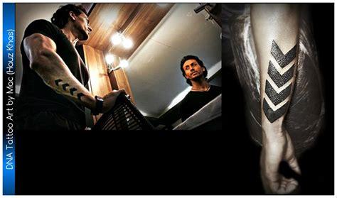 tiger shroff film baaghi tattoo  dna tattoo art
