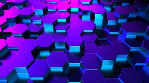 3d Backgrounds by Blue 3d Hexagons 4k Ultrahd Wallpaper Wallpaper Studio