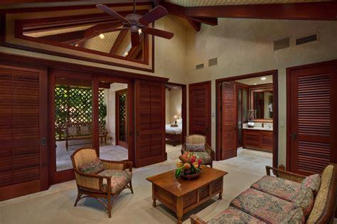 bali house tropical living room hawaii  rick