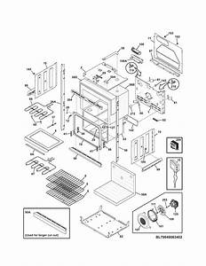Kenmore Elite 79049063402 Electric Wall Oven Parts