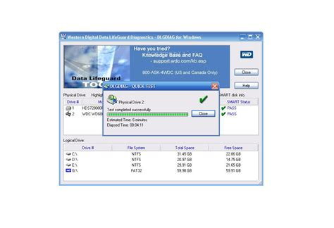 Western digital data lifeguard diagnostic for windows 7 ...