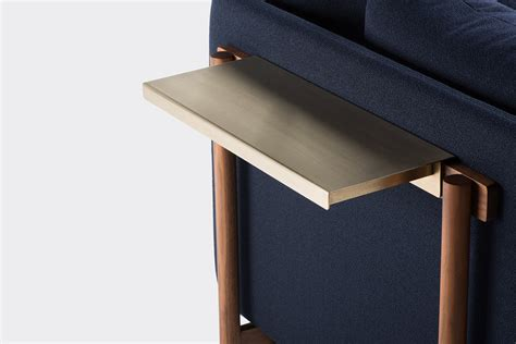 Sofa Tray Sofa Chair Arm Rest Tray Table Stand With Side