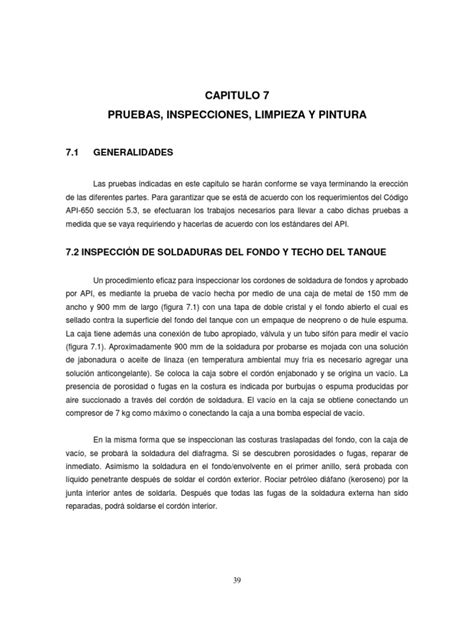 Capitulo7 Prueba e Inspeccion API 650