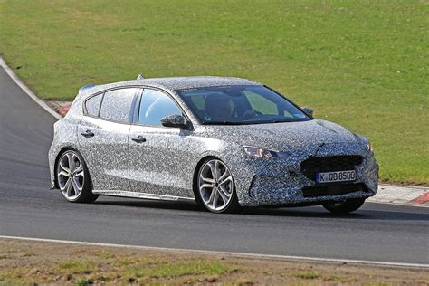 New 2019 Ford Focus St Spied At The Nurburgring