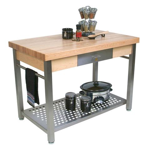 boos kitchen island john boos cucina grande kitchen work islands with hard maple top kitchensource com
