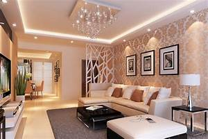 Modern living room interior design partition interior design for Interior design for living room partition