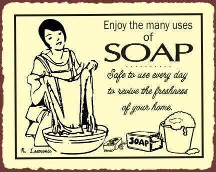 soap vintage metal art laundry cleaning retro tin sign ebay