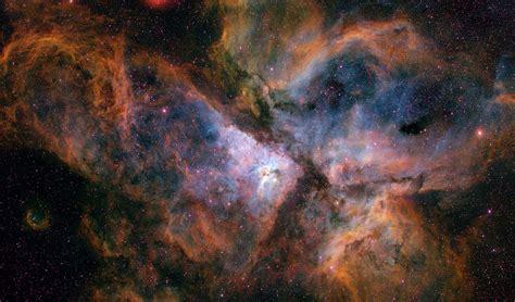 carina nebula   ground esahubble