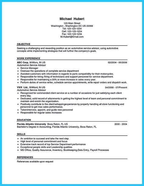 Auto Resume Writer by Writing A Concise Auto Technician Resume