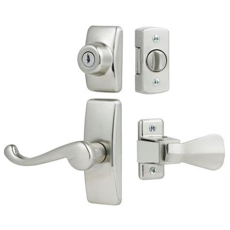 screen door handle home depot ideal security deluxe and screen door lever handle