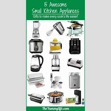 15 Awesome Small Kitchen Appliances