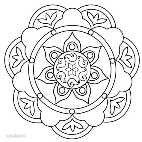 Nowadays, the vivid colors of the web designer are trendy. Printable Rangoli Coloring Pages For Kids