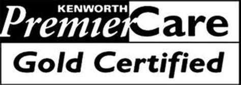 Kenworth Premiercare Gold Certified Trademark Of Paccar