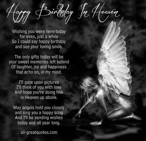 Happy Birthday In Heaven Images Happy Birthday In Heaven Poem Pictures Photos And Images
