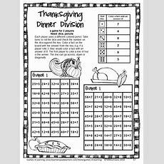Thanksgiving Math Games Fourth Grade Fun Thanksgiving