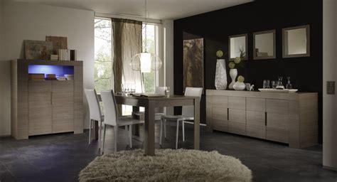 table et chaises de cuisine conforama salle à manger contemporaine chêne gris salle à