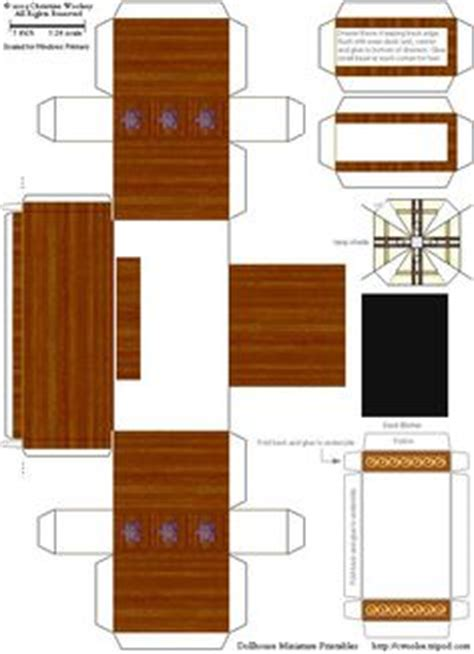 felt doll house furniture designed