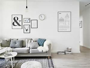 Salon Design Scandinave : id e d co salon le salon en style scandinave ~ Preciouscoupons.com Idées de Décoration