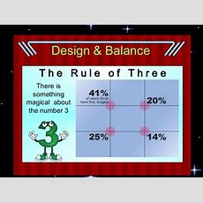 Graphic Design Rule Of Three