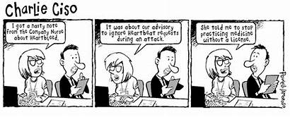 Cyber Cartoon Without Security License Ciso Medicine