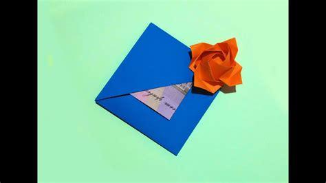 easy gift card  flower  secret message