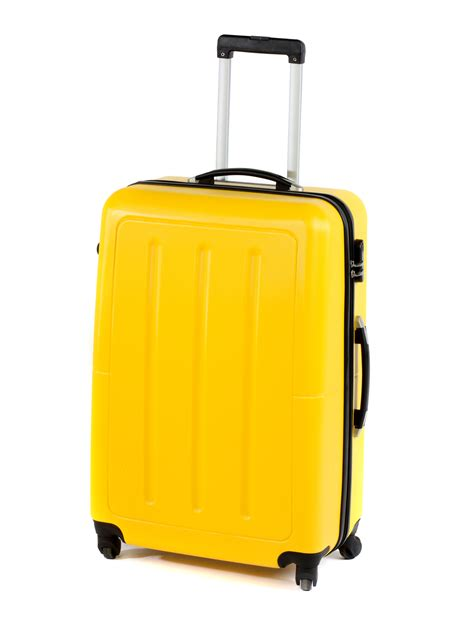 "Constellation Galloway ABS Suitcase, 28"", Yellow ..."