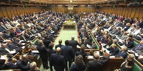 chambre des communes londres au royaume uni le parlement vote sur le mariage homosexuel