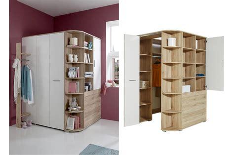meuble d angle chambre armoire d 39 angle de chambre à coucher enfant novomeuble