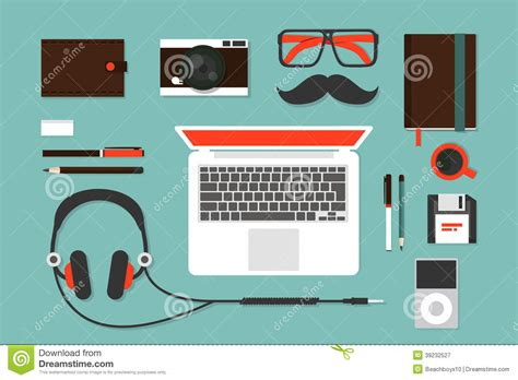accessory design hipsters accessories stock vector image 39232527
