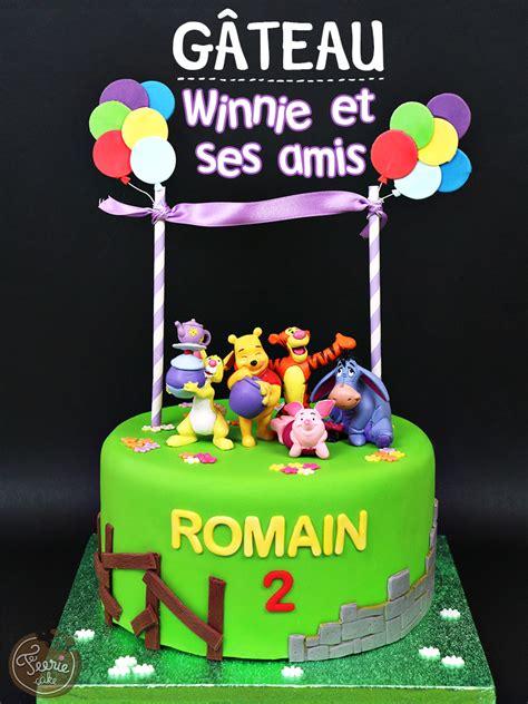 g 226 teau quot winnie et ses amis quot f 233 erie cake