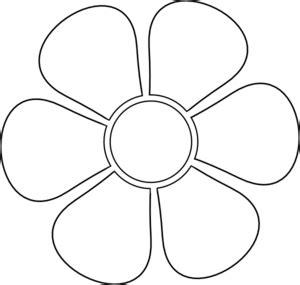 daisy stencil clip art  clkercom vector clip art