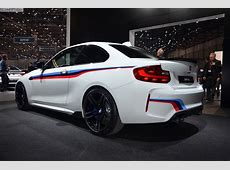 A beautiful BMW M2 Alpine White with M Performance Parts