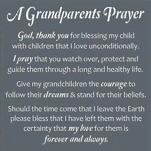 A Grandparent's Prayer ... | Grandchildren | Pinterest ...
