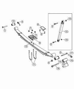Ram 3500 Shock Absorber Kit  Suspension  Rear   Single