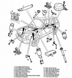 8 Best Images Of Range Rover Suspension Diagram