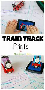 Train Track Prints - Munchkins and Moms