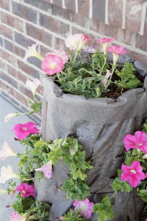 Spring Planting Diy Vertical Garden Two Purple Couches