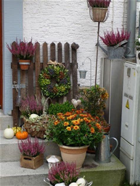 Herbstdeko Gartenbank by Freude Am Sticken Der Herbst Ist Da