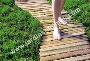 chemin potager 20m en pin fsc allee chemin gravier With chemin de jardin en pierre 15 barre de schiste piquet dardoise allee chemin gravier
