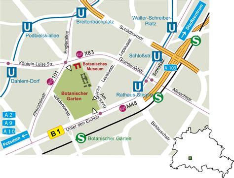 Botanischer Garten Köln Lageplan by So Finden Sie Uns Bgbm