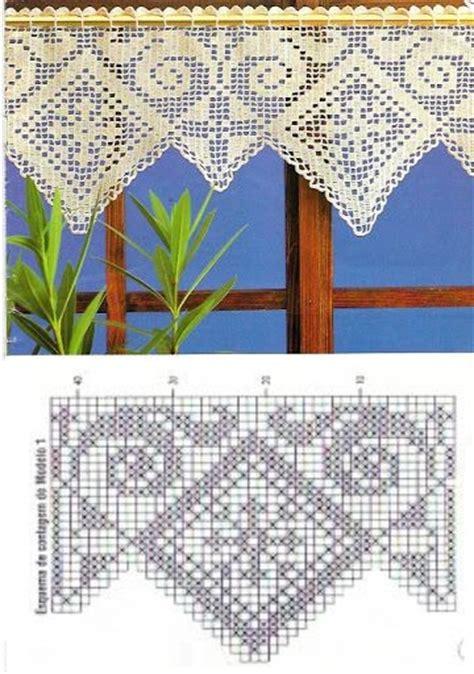rideaux en crochet patron rideaux au crochet fait patrons gratuits crochet et plus crochet et plus