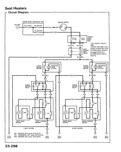 1996 Honda Accord Dash Wiring Schematic by Diy Honda Civic 92 95 Edm Heated Seats Diy Retrofit