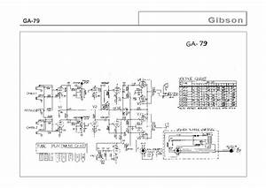 Gibson Ga 9 Amplifier Schematic Service Manual Free