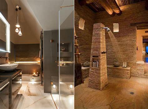 Bemerkenswert Natursteinwand Badezimmer Wohnzimmer Design Grau Bad Modern Gestalten Mit Licht