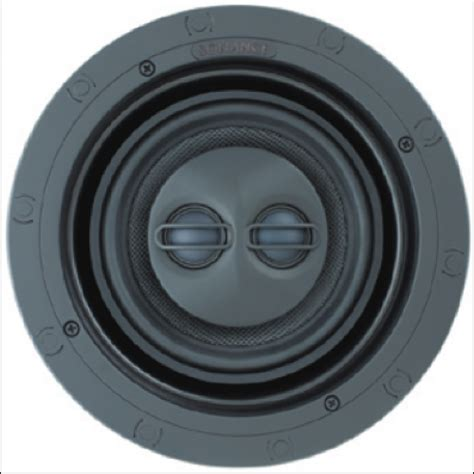 sonance in ceiling speakers sonance visual performance vp66r sst surr in ceiling