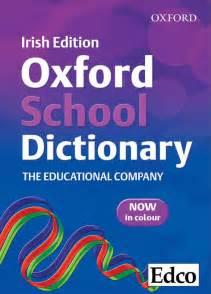 School Oxford Dictionary